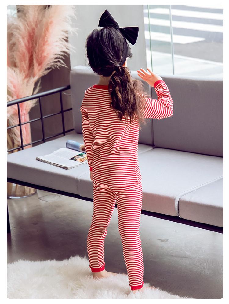 2019年新款韩版内衣套装条纹款织里童装批发厂家直销代理加盟一件代发