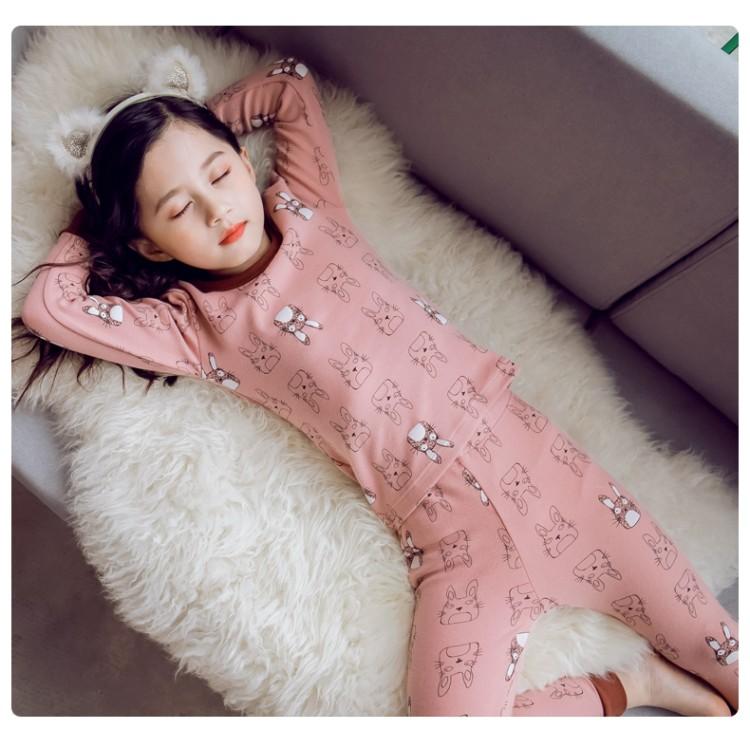 2019年新款韩版内衣套装龙猫款织里童装批发厂家直销代理加盟一件代发