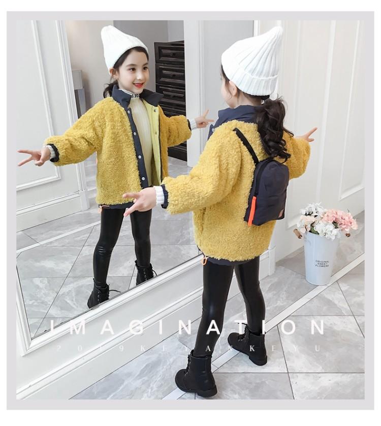 2019年新款韩版背包毛毛衣外套织里童装批发厂家直销代理加盟一件代发