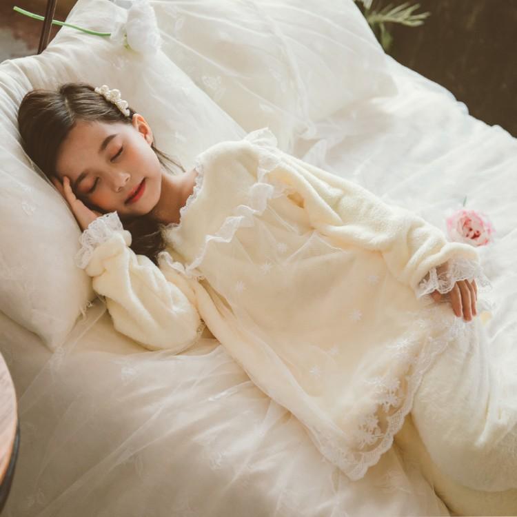 2019年新款韩版仙女睡衣套装织里童装批发厂家直销代理加盟一件代发