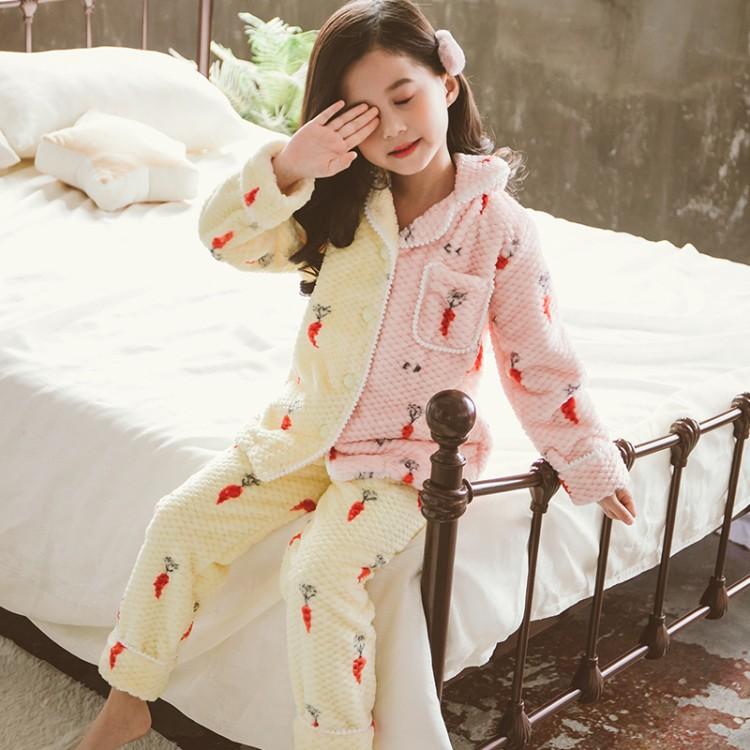 2019年新款韩版AB版睡衣套装织里童装批发厂家直销微商代理加盟一件代发