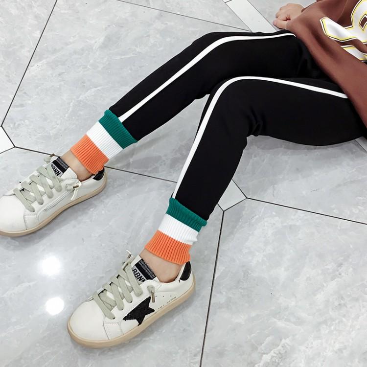 2019年新款韩版加绒打底裤织里童装批发厂家直销微商代理加盟一件代发