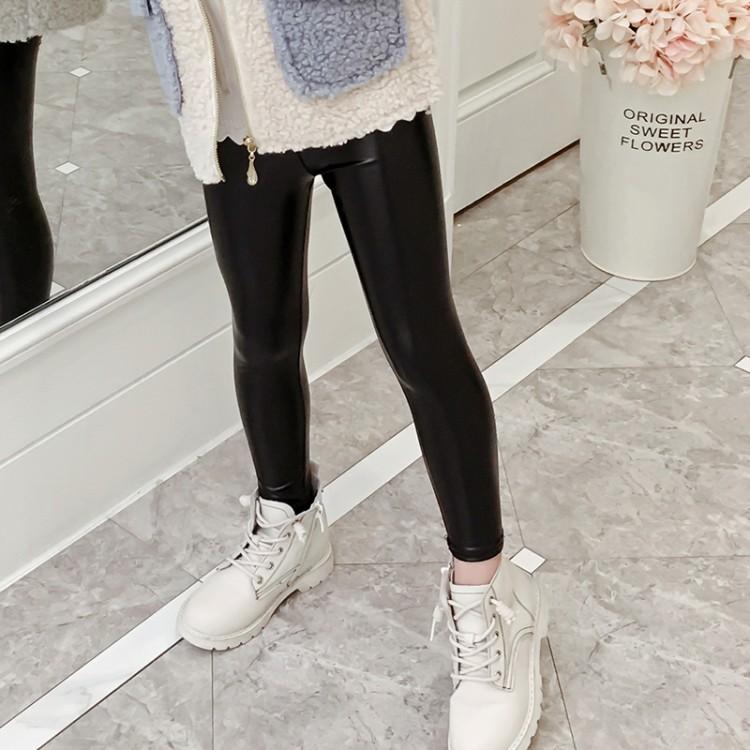 2019年新款韩版百搭皮裤织里童装批发厂家直销微商代理加盟一件代发