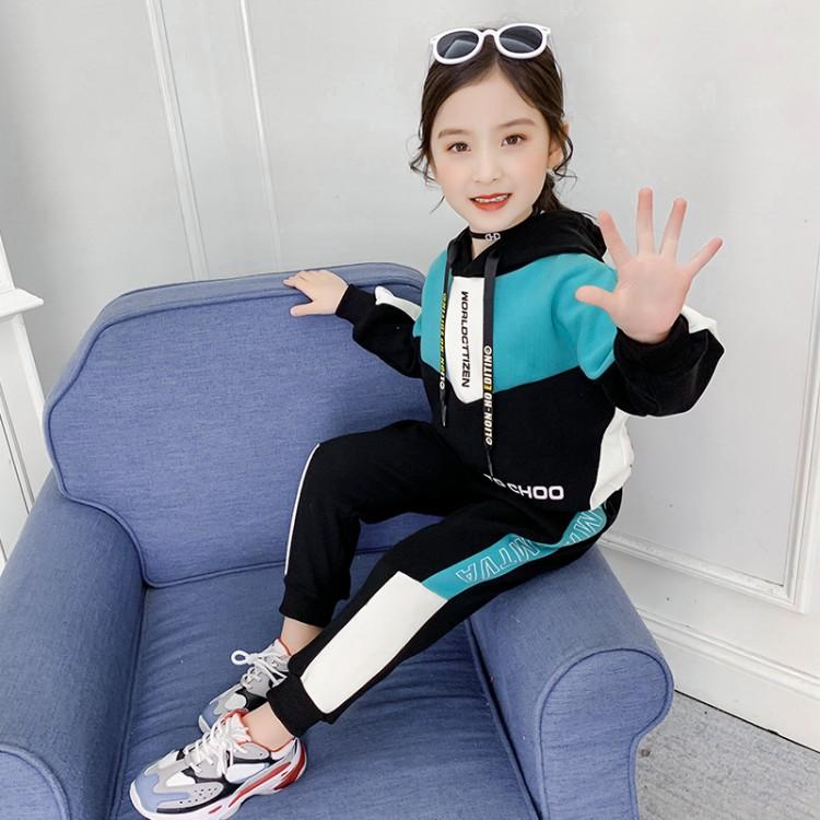 2019年新款韩版米妮刷毛绒套装织里童装批发厂家直销微商代理加盟一件代发