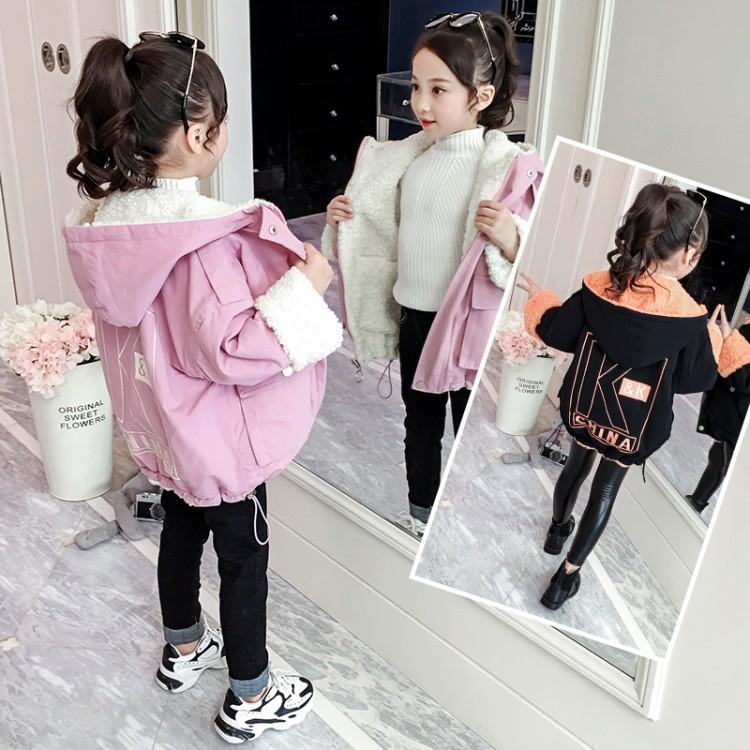 2019年新款韩版KK两面穿风衣外套织里童装批发厂家直销微商代理加盟一件代发