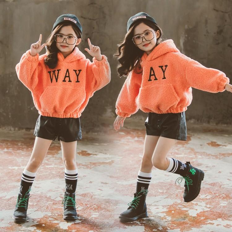 2019年新款韩版时尚字母卫衣织里童装批发厂家直销微商代理加盟一件代发