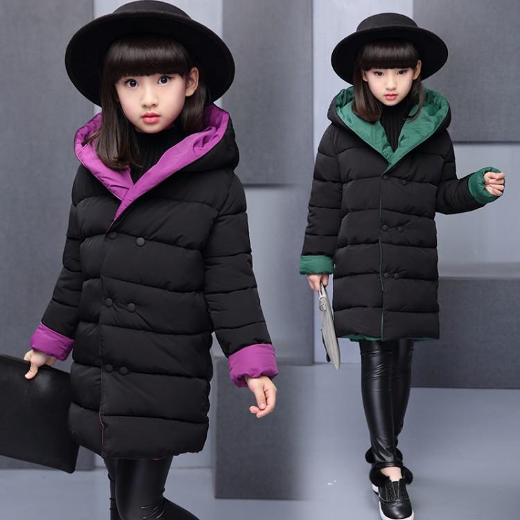 2019年新款韩版女童两面穿棉袄织里童装批发厂家直销微商代理加盟一件代发