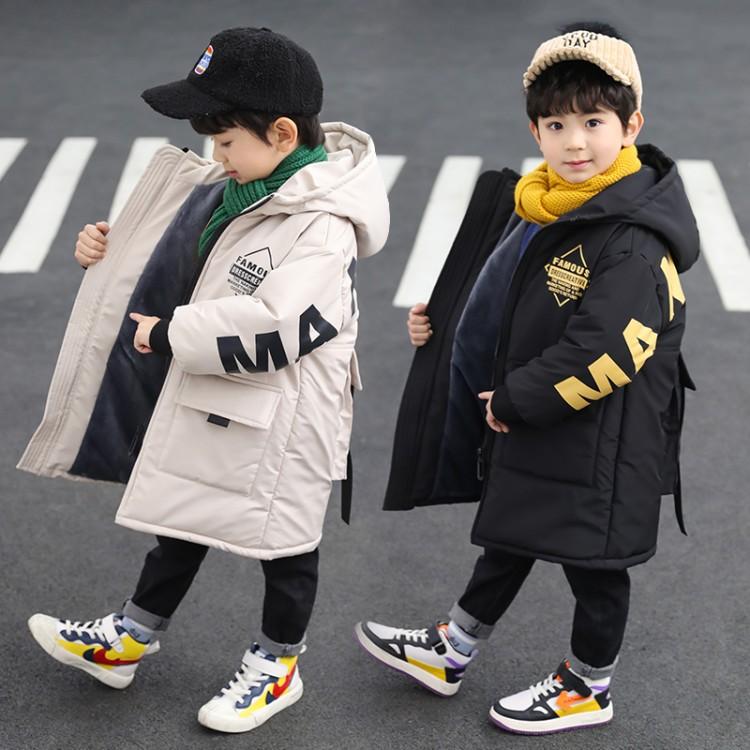 童装男童冬季棉衣2019新款99015后背大口袋棉衣