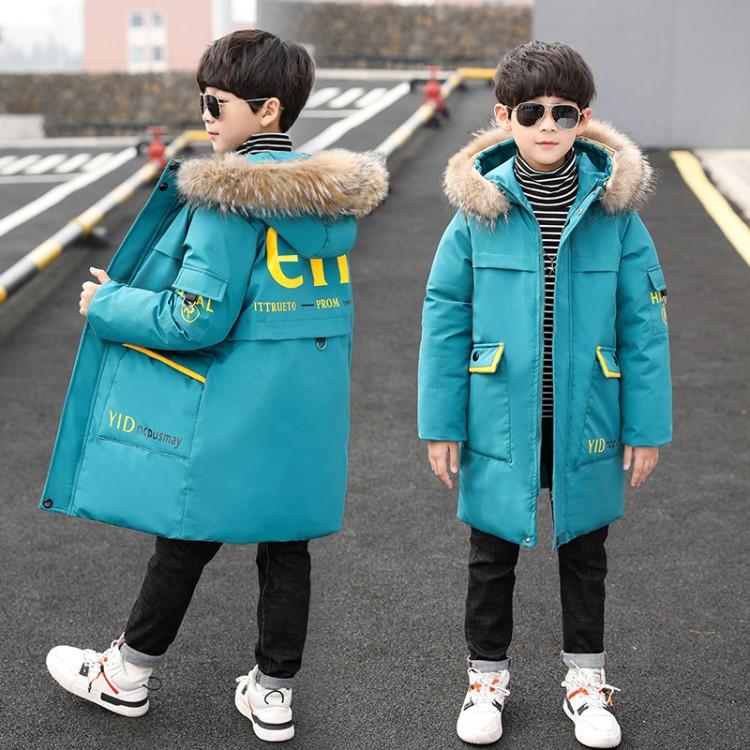 男童冬季棉衣2019新款男童棉衣时尚洋气棉衣