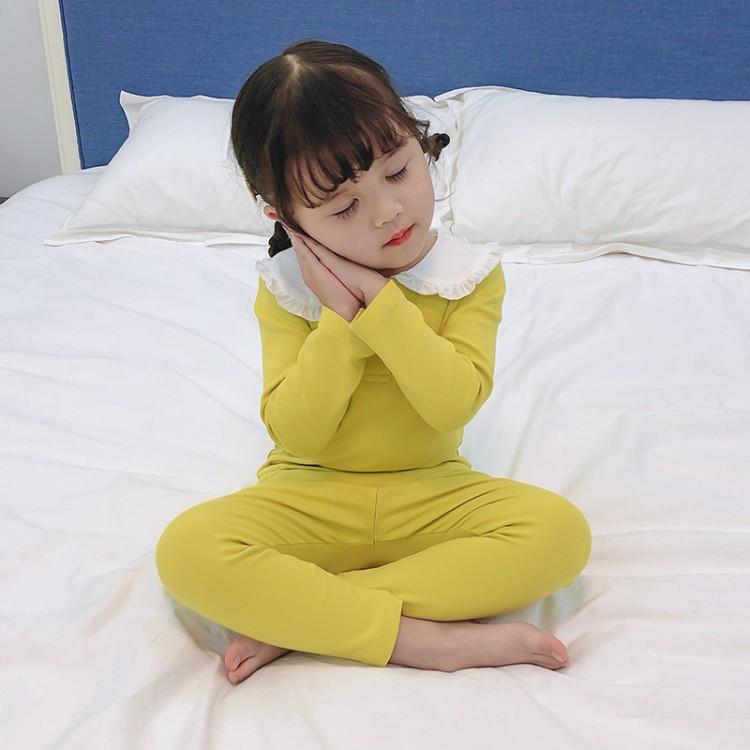 娃娃领睡衣套装