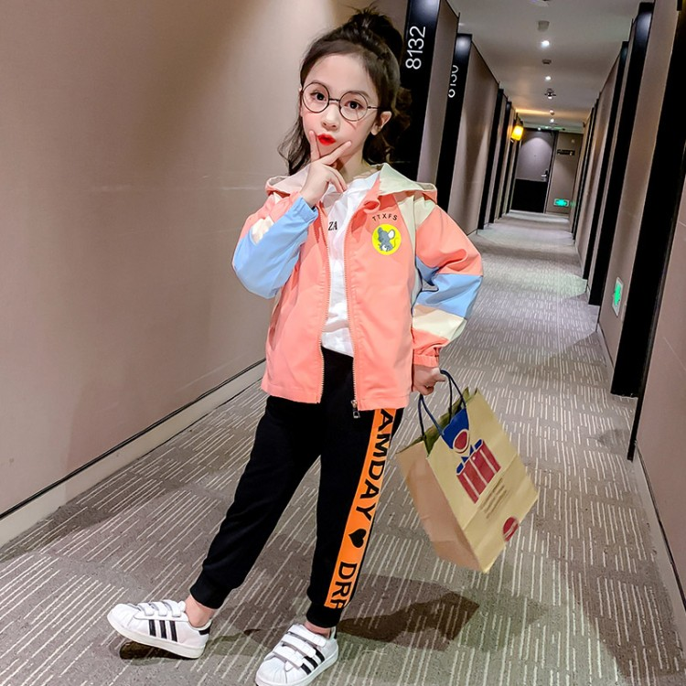 女童春秋款米老鼠外套