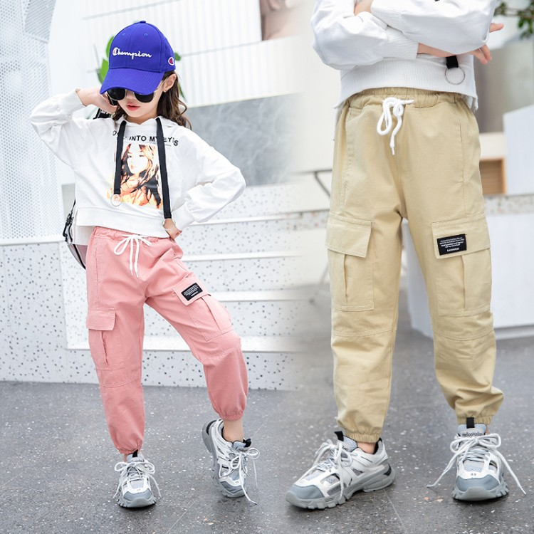 2020新款女童多色工装裤