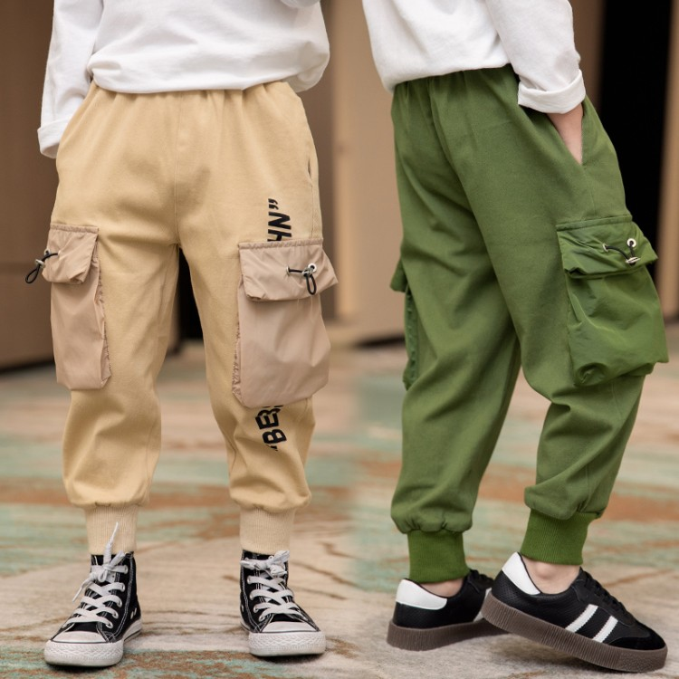 2020新款工装立体袋休闲裤