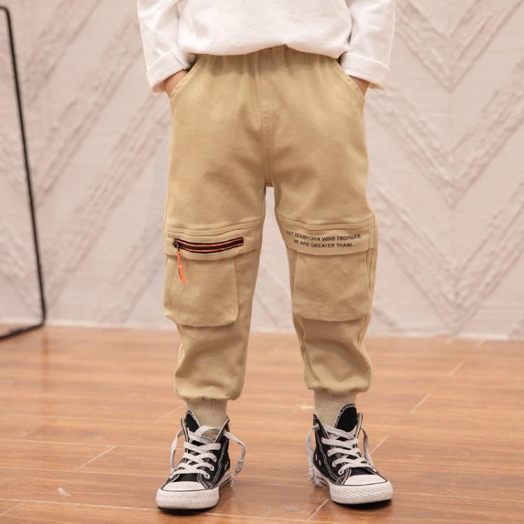 2020新款男童工装风休闲长裤