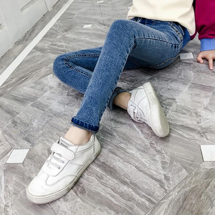女童牛仔裤春秋装2020新款12中大童休闲长裤儿童洋气裤子
