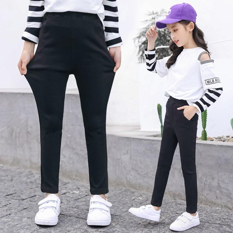 女童2020新款修身裤子