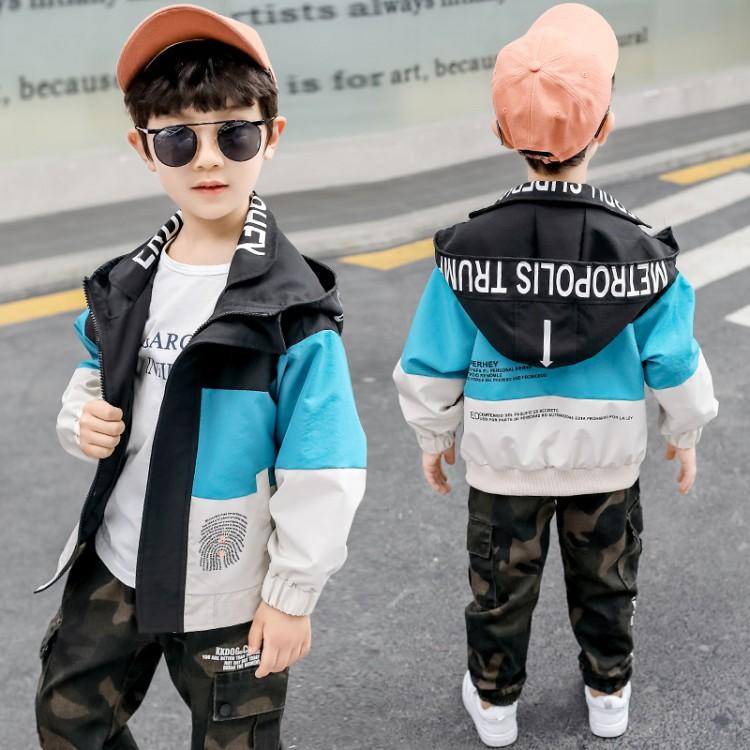 男童中大童2020春款外套