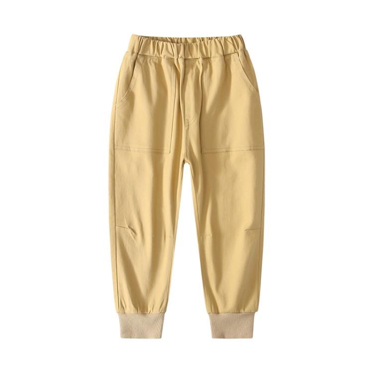 男童中大童2020春款棉布裤