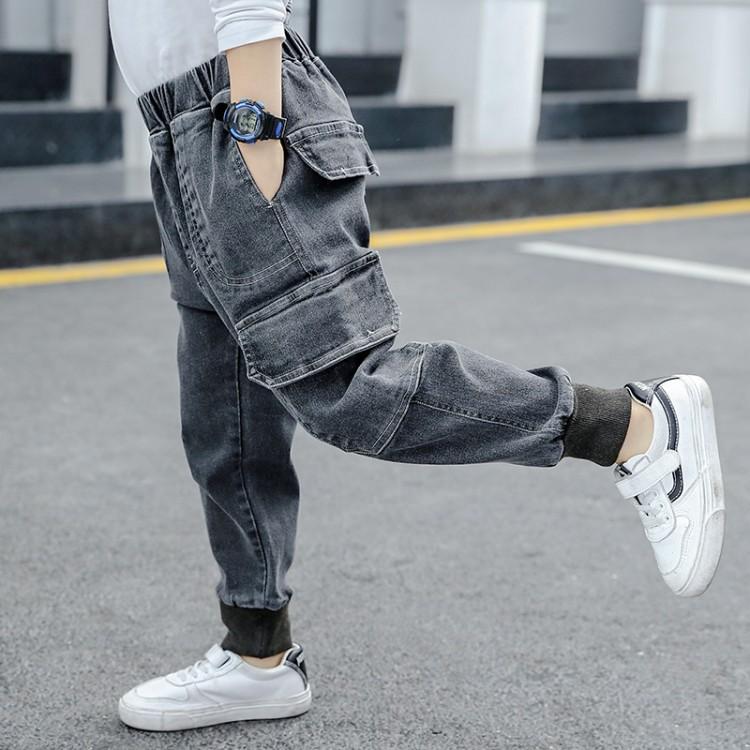 男童中大童2020春款牛仔裤