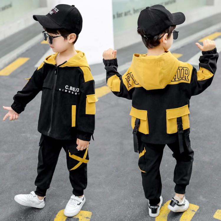 男童中大童2020春款套装