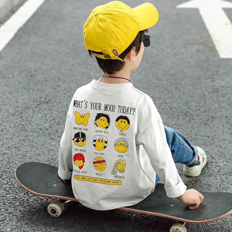 2020年春款T恤长袖T恤男童T恤