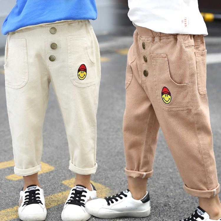 新款中童纯棉休闲裤