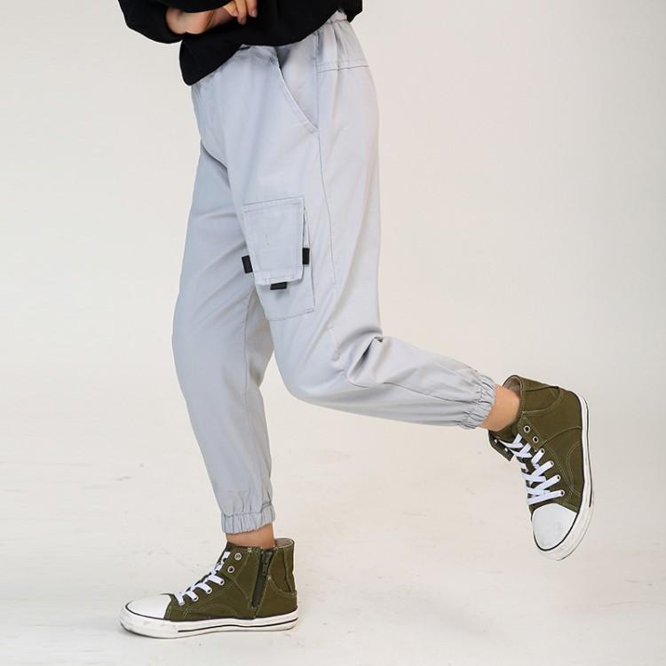 男童中大童小口袋休闲裤