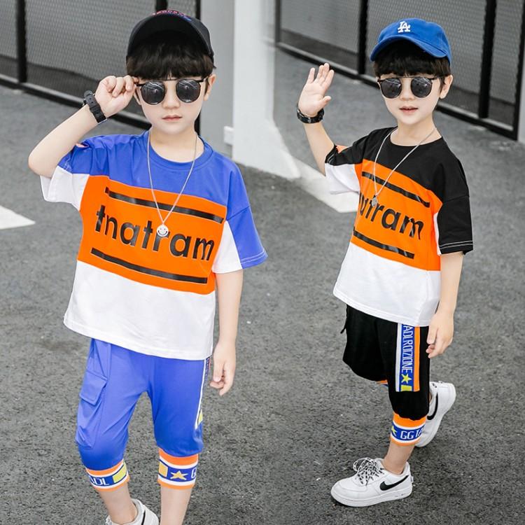 韩版风罗纹两件套装