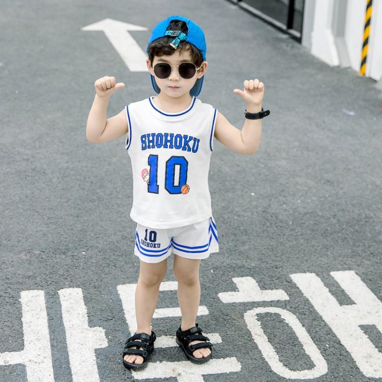 男童篮球运动装 童装一件代发 直播带货 微商拿货 织里儿童网