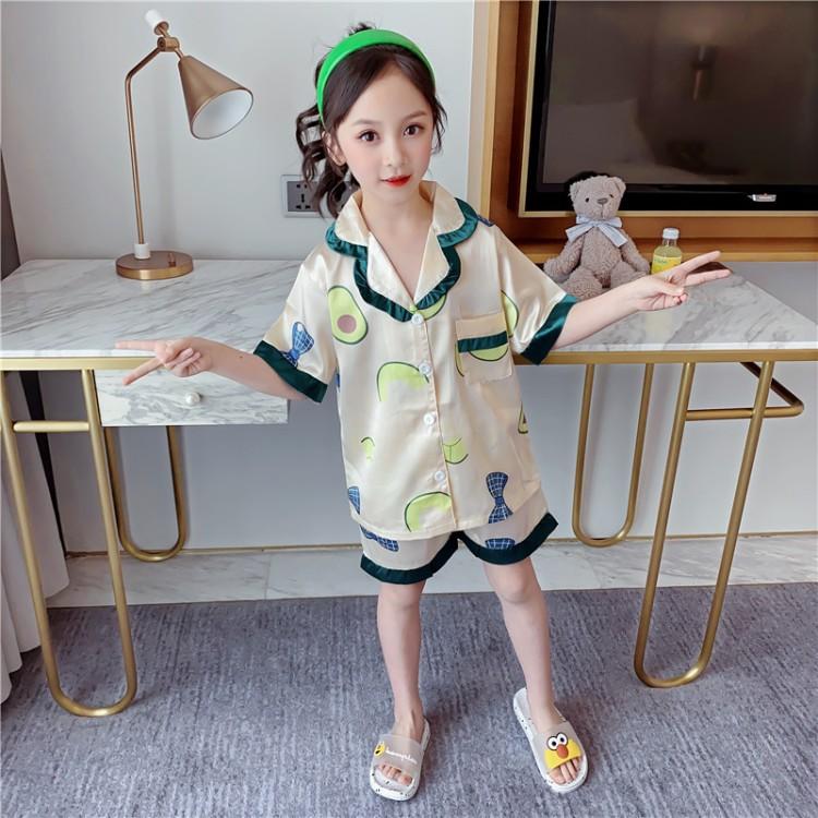 女童发夹睡衣 厂家童装批发 一手货源 物美价廉 到织里儿童网