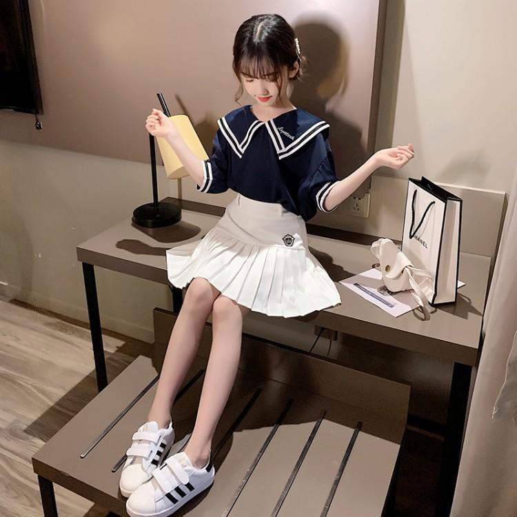 学院风套裙两件套一件代发一件包邮