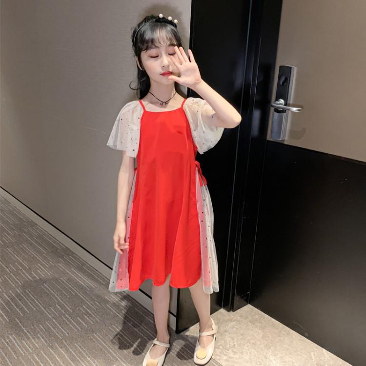 女童星星网纱裙 童装厂家 直播带货 找织里儿童网 免费代理 一件代发