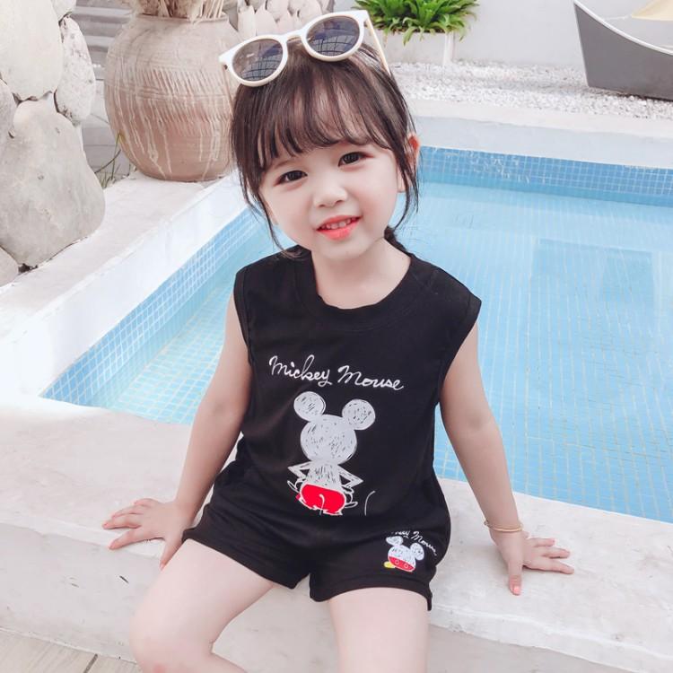 夏款米呢短裤套装 童装厂家 一手货源 地摊货源批发 一件代发