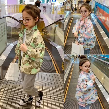 【秋款】 迷彩外套 童装一件代发 直播带货 微商拿货 织里儿童网