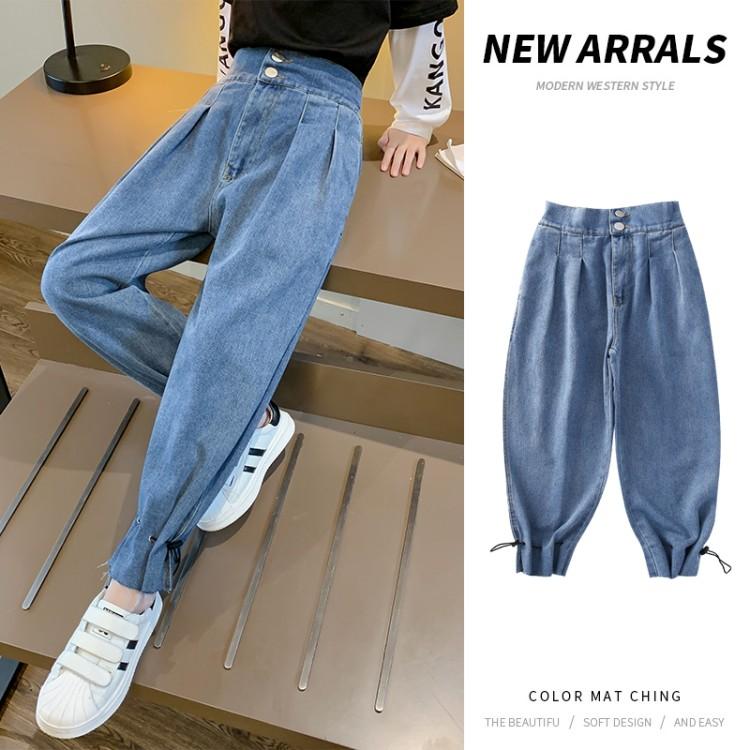 脚口收口牛仔裤童装怎么拿货 到织里儿童网 一手货源一件代发
