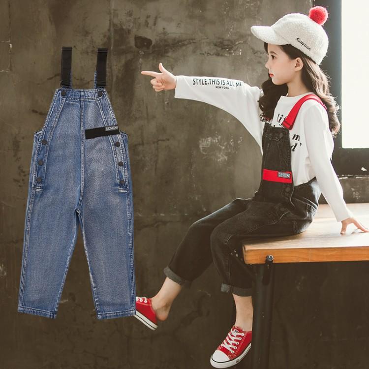 织带牛仔背带裤 童装怎么拿货 到织里儿童网 一手货源一件代发