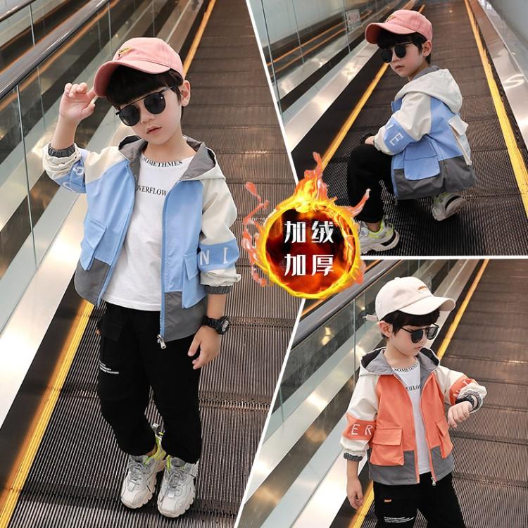 男童大口袋外套 童装批发厂家直销 直播带货 一件代发