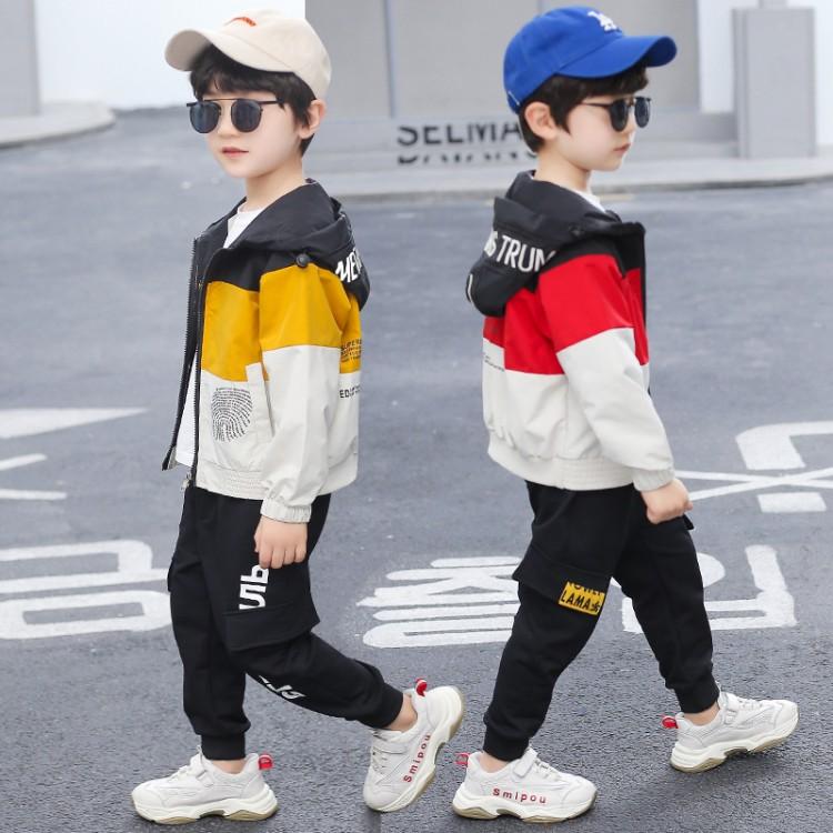 男童指纹外套 品牌童装货源加盟代理 厂家直销 微商直播拿货 一件批发代发