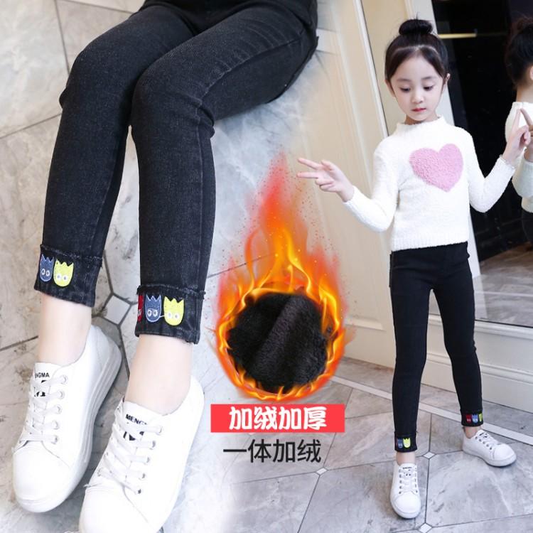 女童小怪兽加绒 品牌童装货源加盟代理 厂家直销 微商直播拿货 一件批发代发
