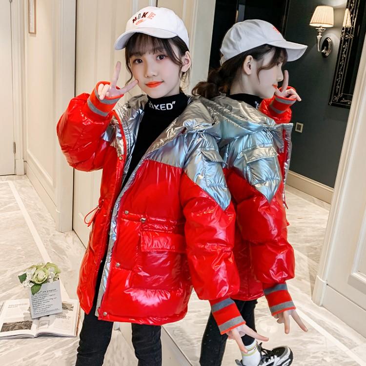 女童拼色棉服童装货源 直播拿货 到织里儿童网 一件批发代发