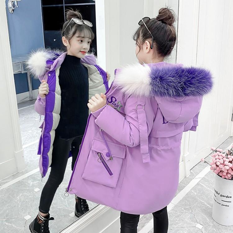 女童加厚星星棉衣童装货源 直播拿货 到织里儿童网 一件批发代发