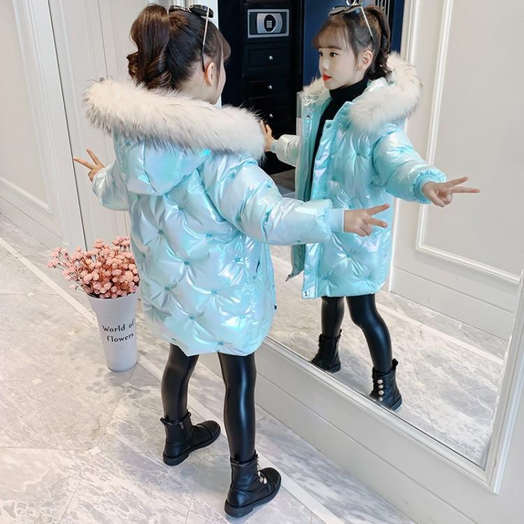 女童皇冠亮布棉衣 厂家童装批发 一手货源 物美价廉 到织里儿童网