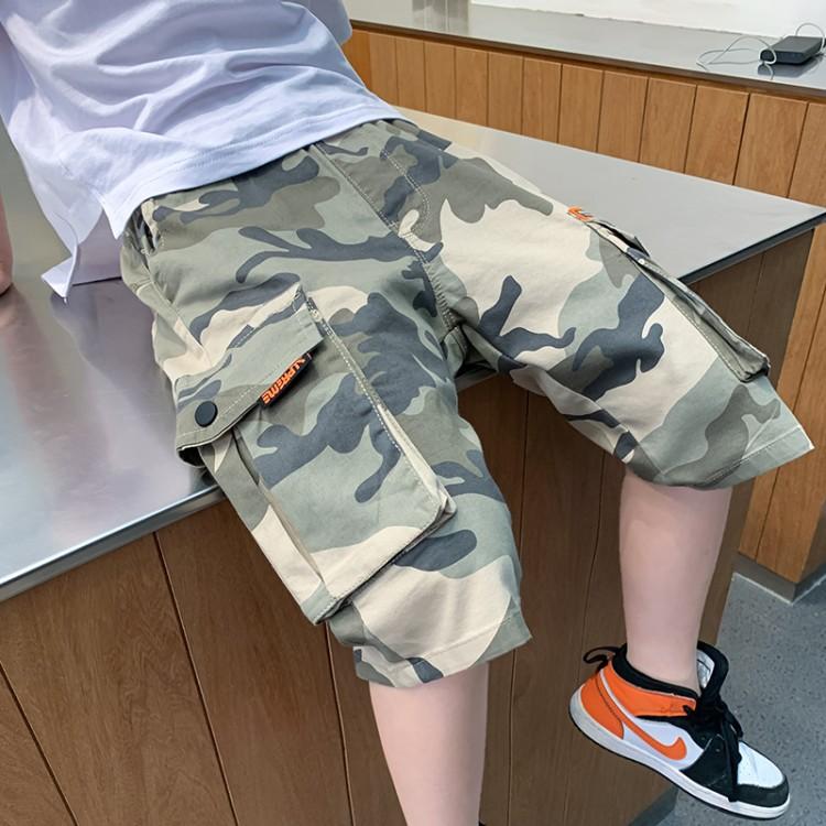 8810男童迷彩工装裤
