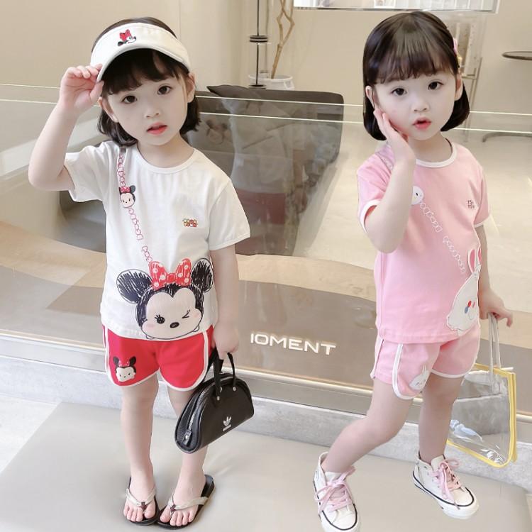女小童印花贴布套装