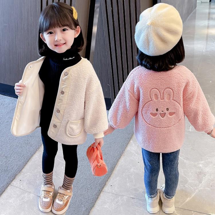 毛毛衣外套,加绒保暖