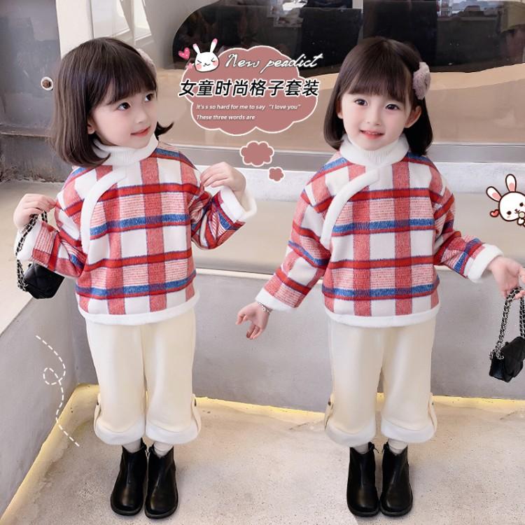 加绒中国风套装
