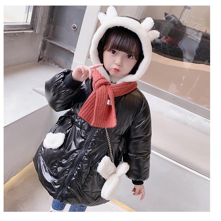 兔耳帽棉衣