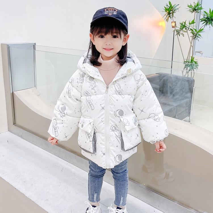 女童太空兔棉衣