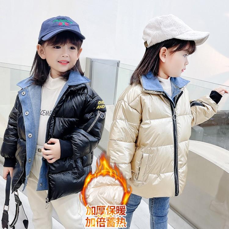 假两件棉衣女童